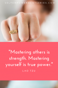 Mastering others is strength. Mastering yourself is true power - Lao Tzu