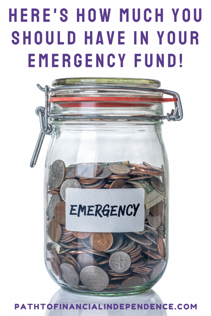 here's how much should have in your emergency fund