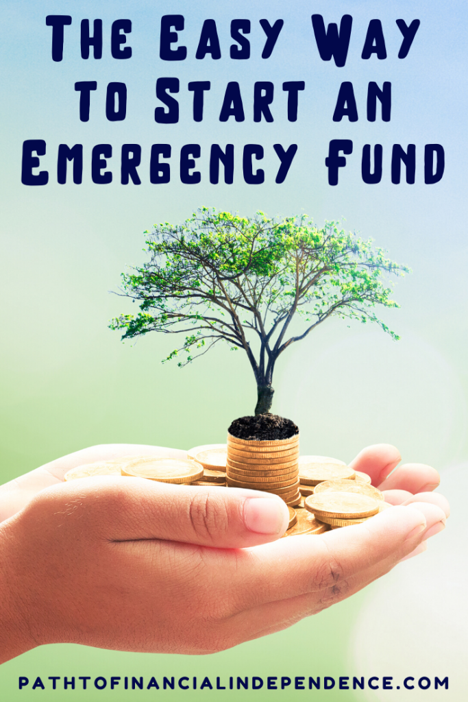 the easy way to start an emergency fund