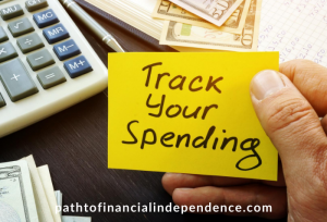 track your spending on the way to financial independence
