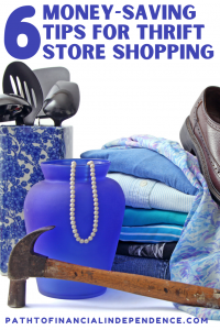 6 Money Saving Tips for Thrift Store Shopping