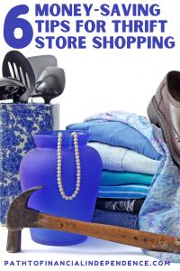 6 Money Saving Tips for Thrift Store Shopping