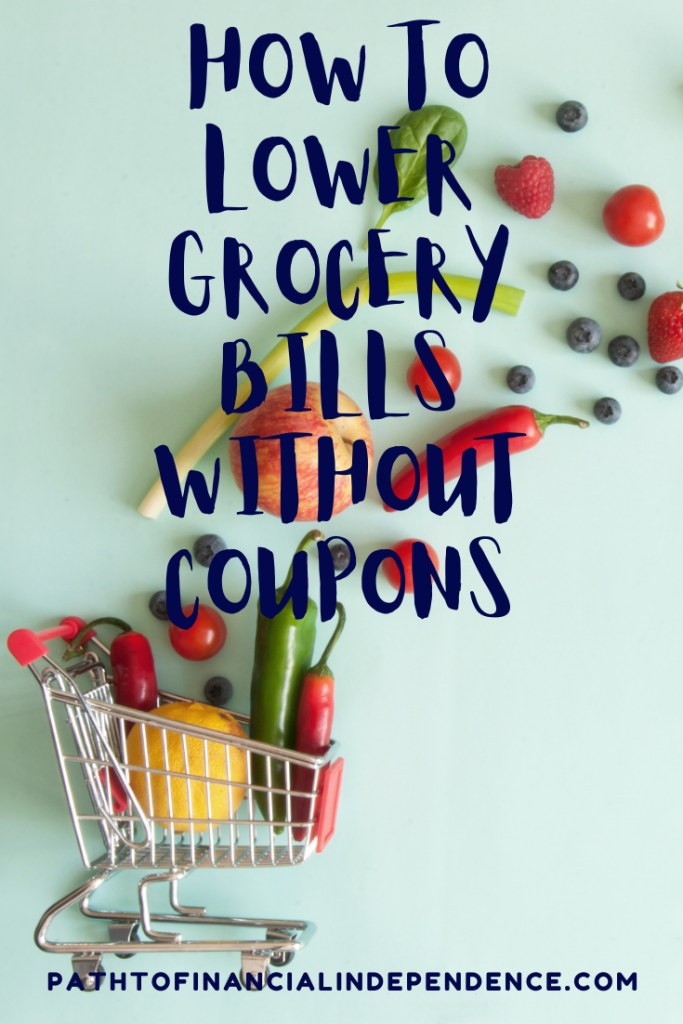 How to lower grocery bills without using coupons