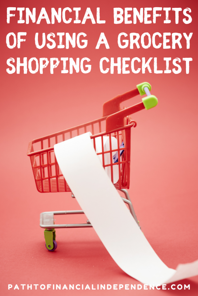 financial Benefits of Using a Grocery Shopping Checklist