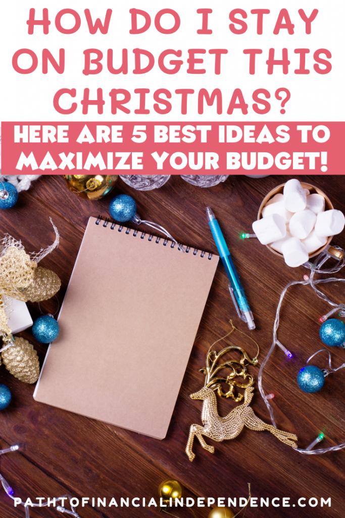 How Do I Stay on a Christmas Budget?