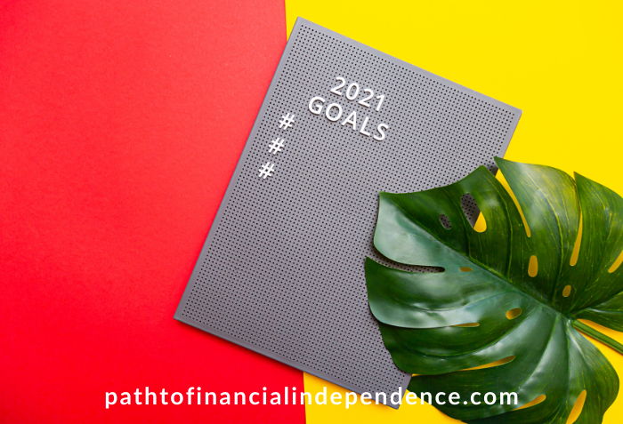 Setting financial goals in 2021